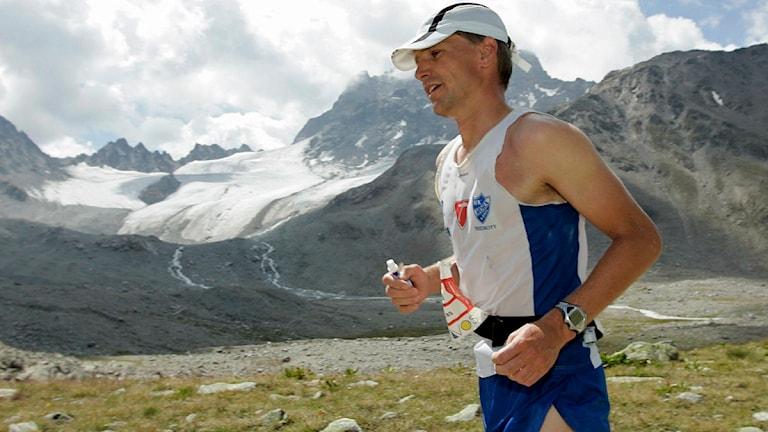 Jonas Buud från Mora är ultralöpare