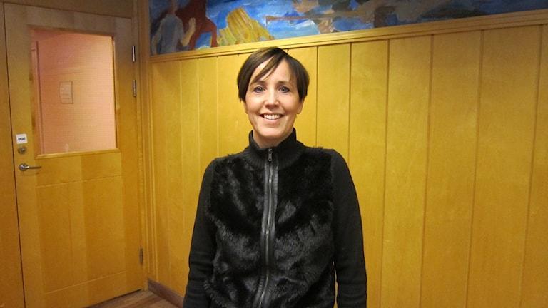 Marie-Louise Albertsson verksamhetschef vid Avesta Lasarett