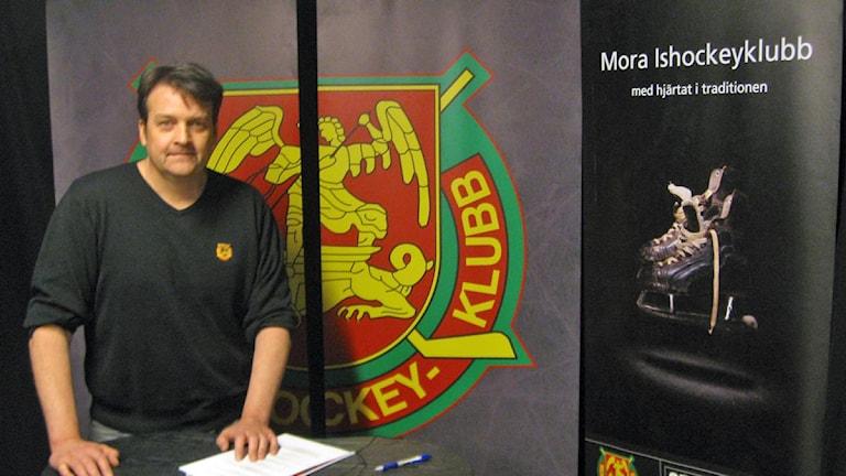 Mora IKs klubbdirektör Peter Hermodsson.