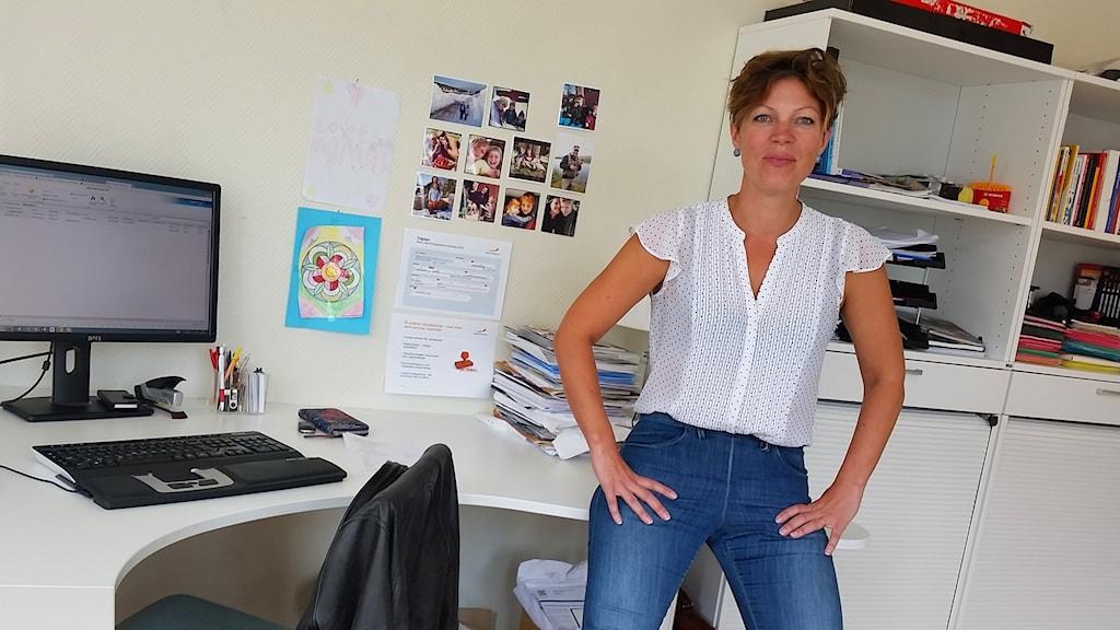 Teresa Bergkvist, regionchef på Svenskt Näringsliv i Dalarna.
