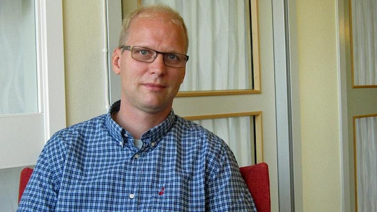 Jonatan Block, skolchef i Falun.