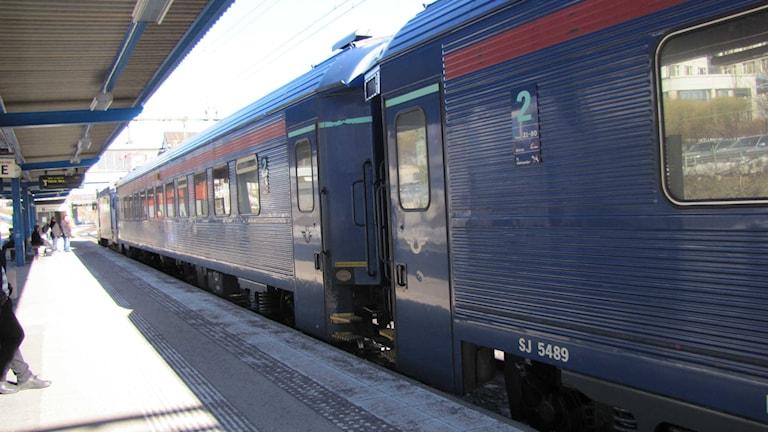 Tågstationen i Borlänge