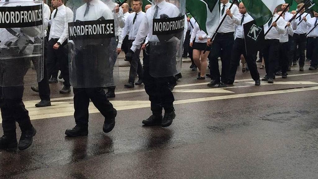 Personer inom Nordiska motståndsrörelsen
