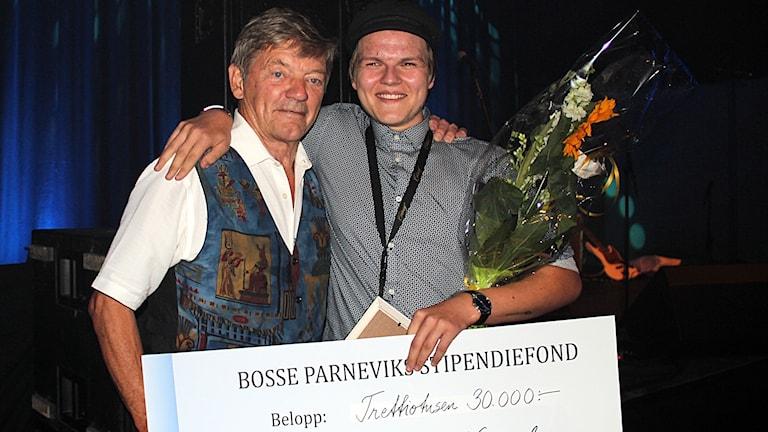 André Vingård och Bosse Parnevik