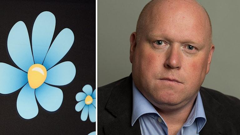 Magnus Persson, riksdagsledamot på dalabänken för Sverigedemokraterna.