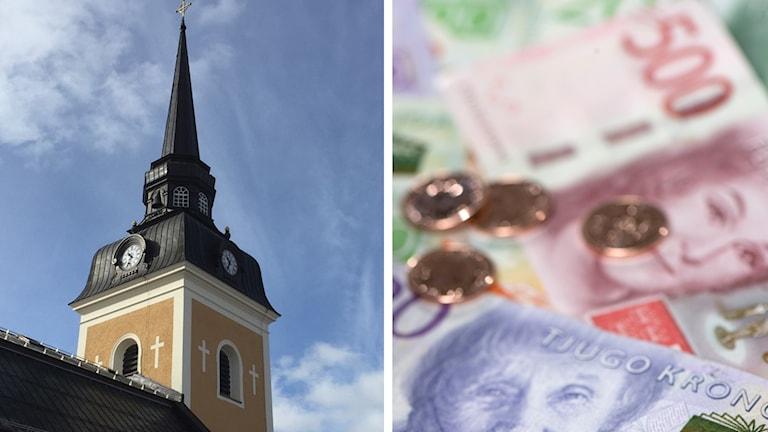 Älvdalens kyrka och sedlar