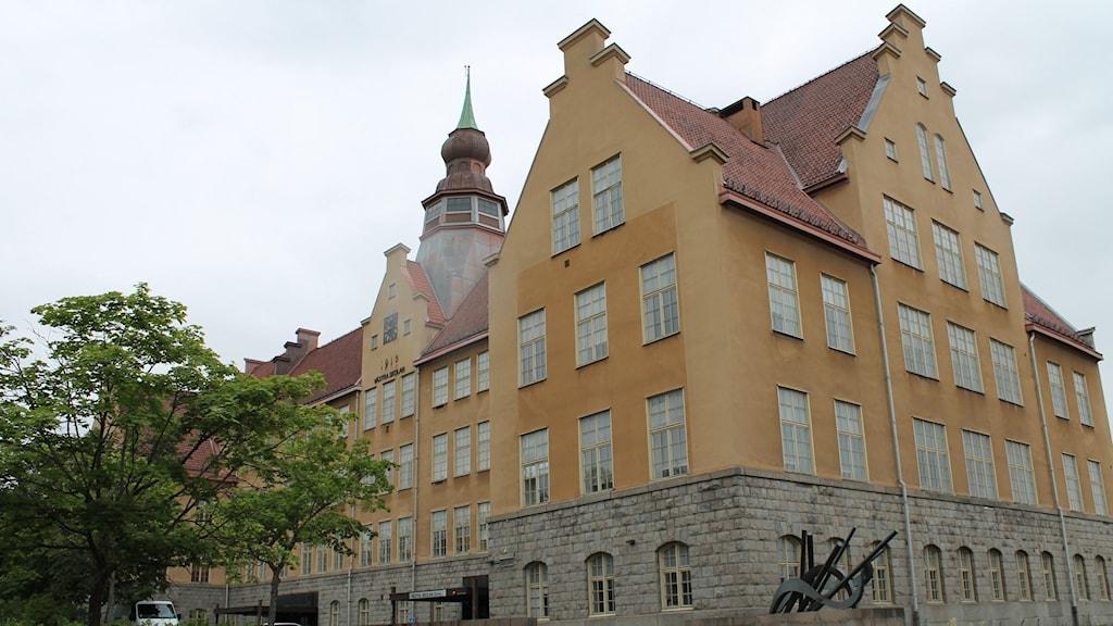 Västra skolan i Falun
