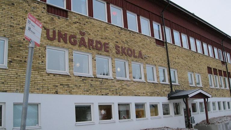 Ungärde skola i Lima. Foto: Matilda Eriksson Rehnberg/Sveriges radio