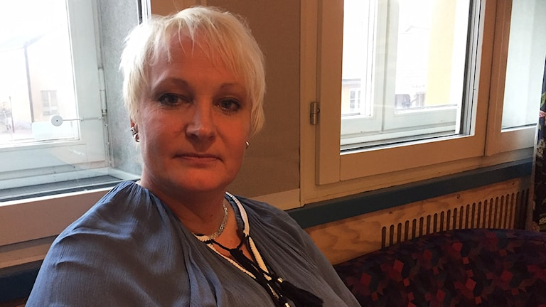 Denise Nilsson som är ambassadör för Hjärnkoll