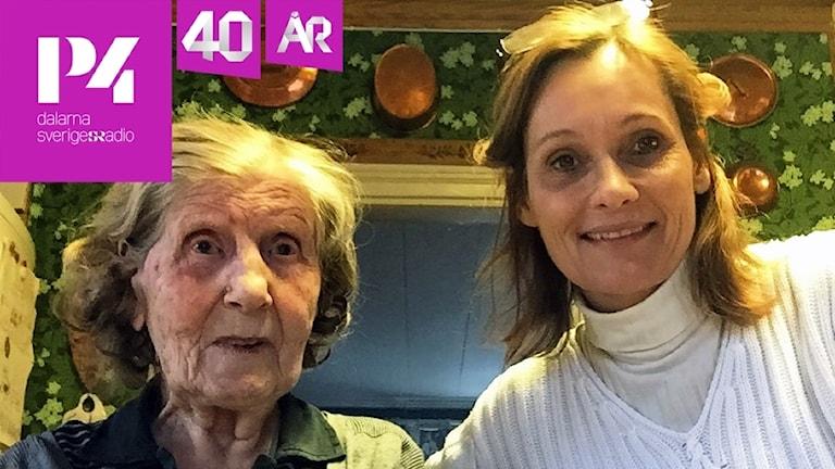Eva Berg och Eva Rehnström.