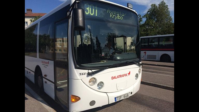 Det är gratis att åka buss på vissa sträckor i Avesta.