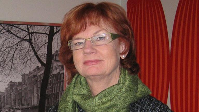 Ann-Britt Åsebol, riksdagsledamot moderaterna.