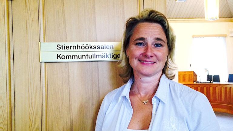 Anette Riesbeck (C), kommunalråd i Rättvik