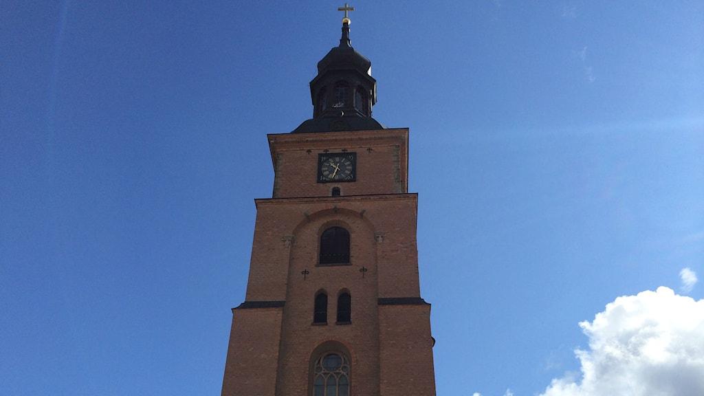 Kristine kyrkas klocktorn. Foto: Beatrice Åström /P4 Dalarna