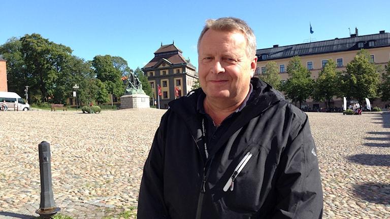 Sten Sabel, chef för ordningspolisen.