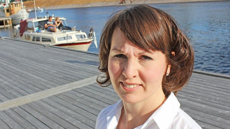 Ulrika Liljeberg (c), kommunalråd i Leksands kommun.