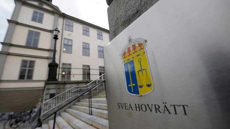 Svea Hovrätt. Foto: Leif R Jansson/TT