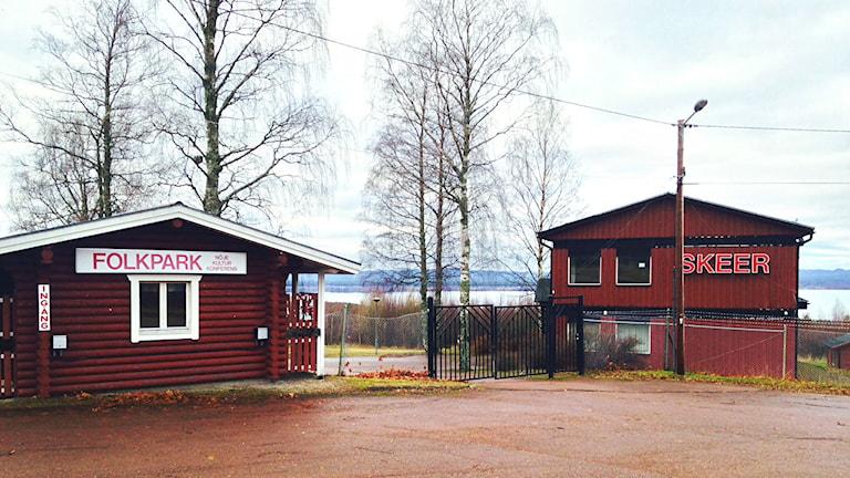Folkparken Skeer i Orsa. Bilden tagen i november 2014.