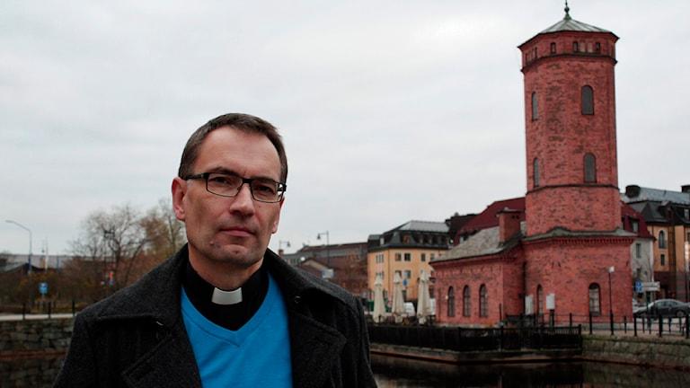Envikens kyrka präst Per Henriksson Lerström.