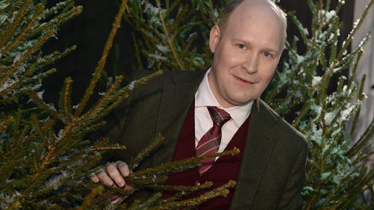 Årets julvärd i SVT Henrik Dorsin