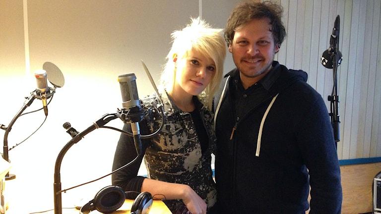 Caroline Larsson och Mark Evitt.