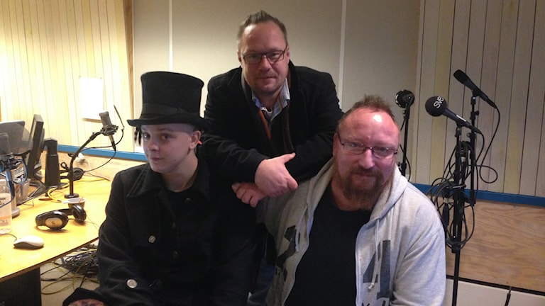 Brylla-festivalens arrangörer Christer Carlsson och Fredrik Dersten. Foto: Sveriges Radio