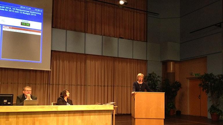 Just nu pågår landstingsfullmäktige i Falun. Under eftermiddagen ska församlingen fatta beslut om nästa års budget.