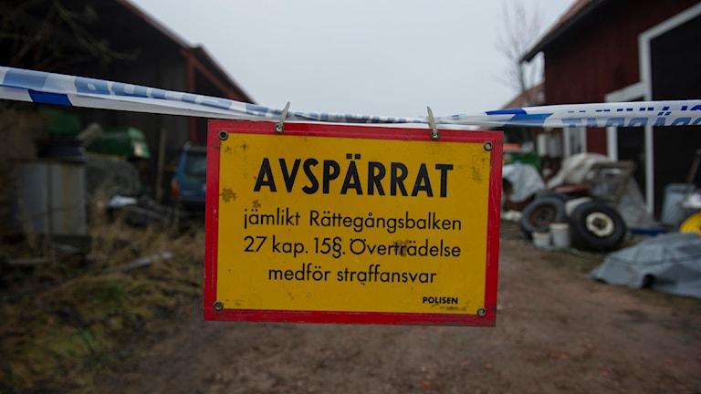 Kvinna hittad död i Skogsbo, två män är anhållna misstänkta för mord