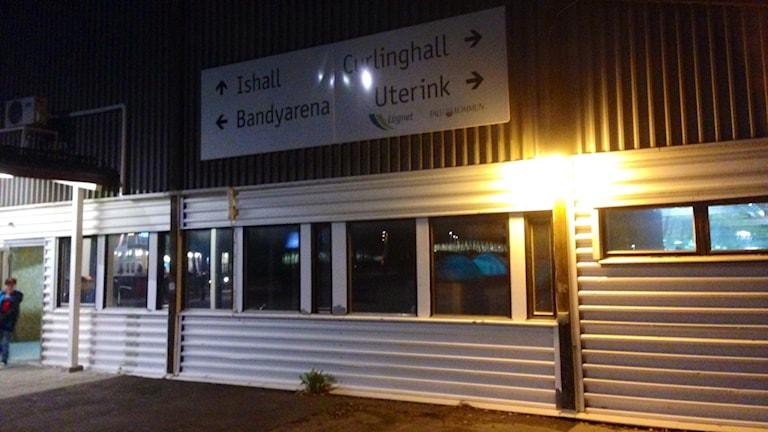 Ishallen i Falun är stängd på grund av mögel. Foto: Eva Rehnström