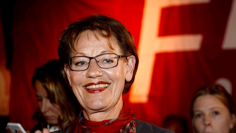 Gudrun Schyman är positiv till extra val. Foto: Maja Suslin/TT