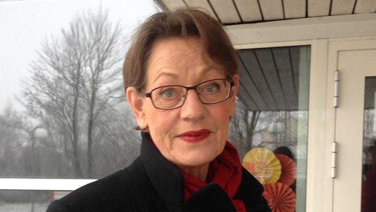 Gudrun Schyman, FI, är positiv till ett extra val. Foto: Salam Abu-Iseifan/Sveriges Radio