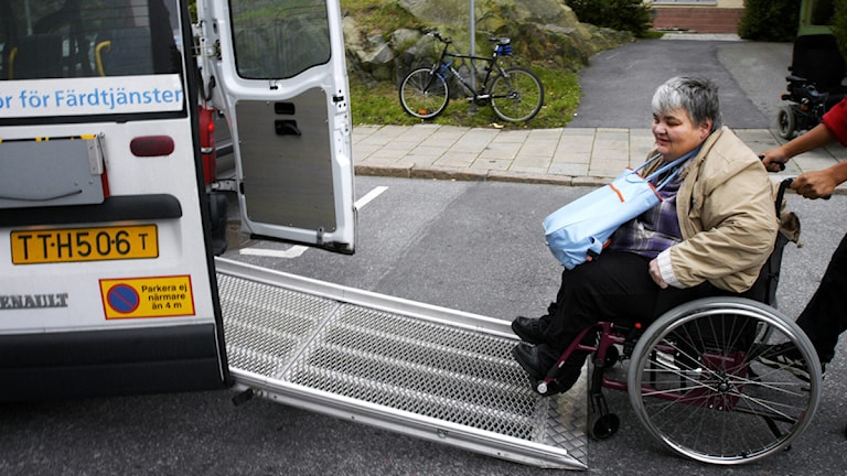 Väntetiden för sjukresor har ökat. Foto: Malin Hoelstad/SvD/TT