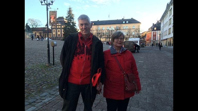 Pensionärerna Christer och Kirsti Andreasson har fullt upp. Foto Eva Larsen