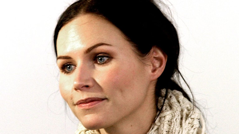 Nina Persson uppträder på Dalhalla 5 september. Foto: Maja Suslin/TT