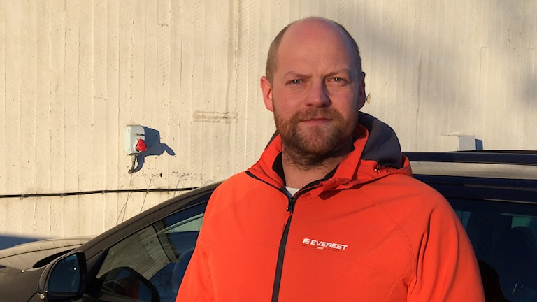 Patrik H-Karlsson, planeringsledare vid avfallsenheten i Ludvika. Foto: Eva Larsen/Sveriges Radio