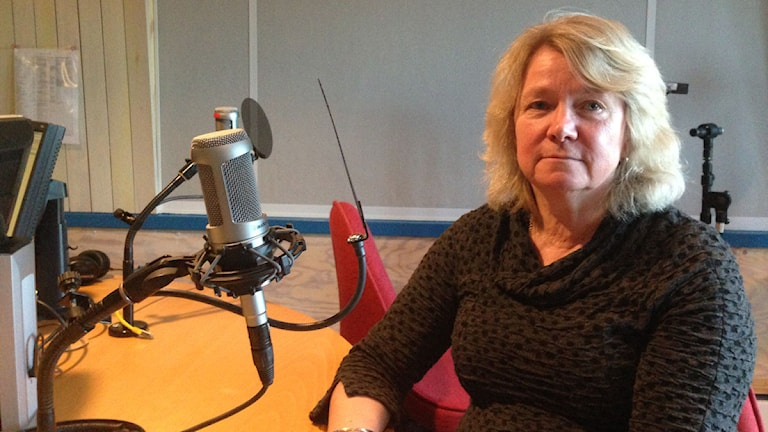 Veckans nätverksgäst i P4 Dalarna Förmiddag, Anna-Lena Söderlund Törnell. Foto: Sveriges Radio