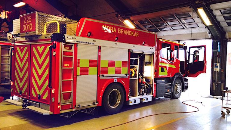 Ny brandbil i Mora, december 2014.