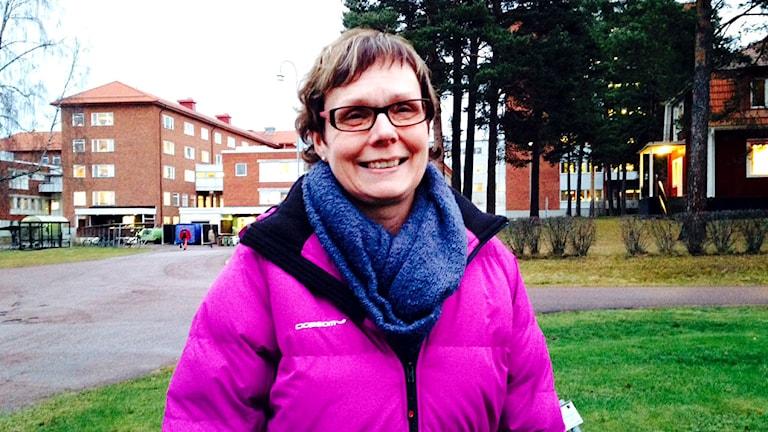 Lena Freijs, områdessamordnare vid landstinget Dalarna.
