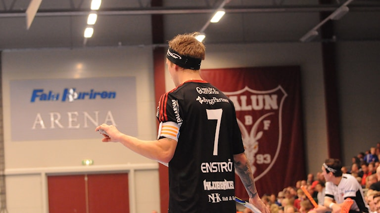 Rasmus Enström. IBF Falun. innebandy.