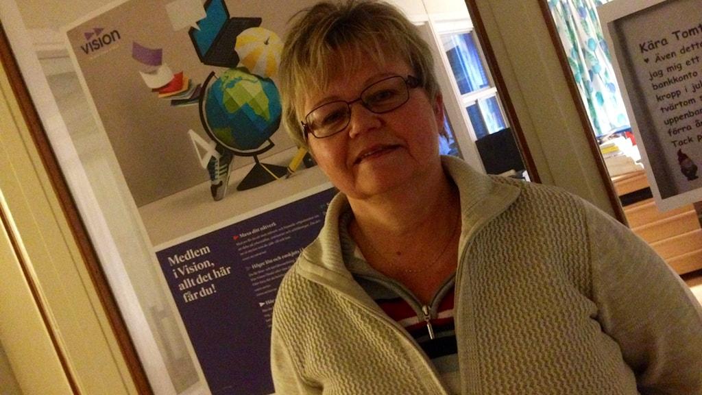 Margareta Nordman är ordförande för fackförbundet Vision i Dalarna