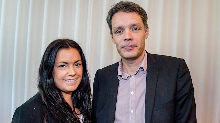 Martina Thun och Ulf Danielsson. Foto: TT.