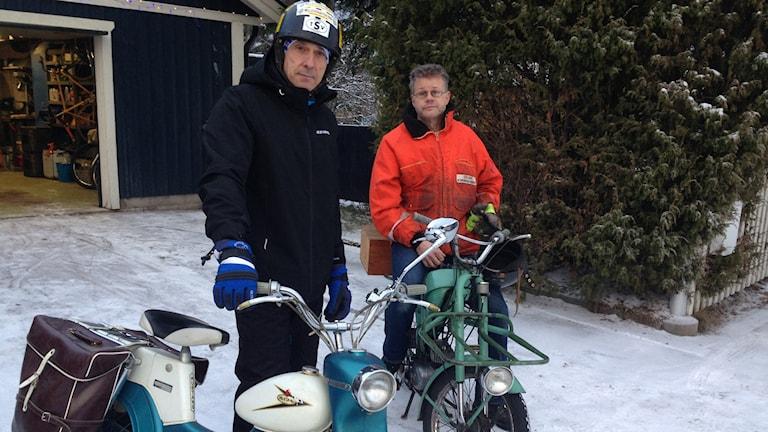 Lars Forsström och Jan Zidén foto: Sveriges Radio