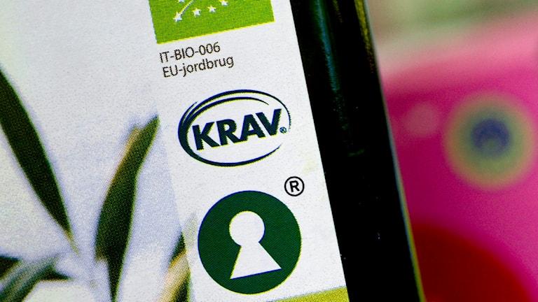 Nya krav 2015 på att kravmärkta produkter även har kravmärkta förpackningar. Foto: Claudio Bresciani/TT