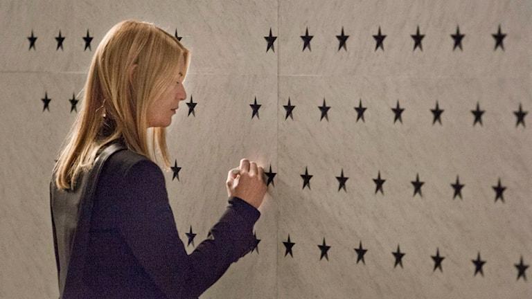 Claire Danes i tv-serien Homeland