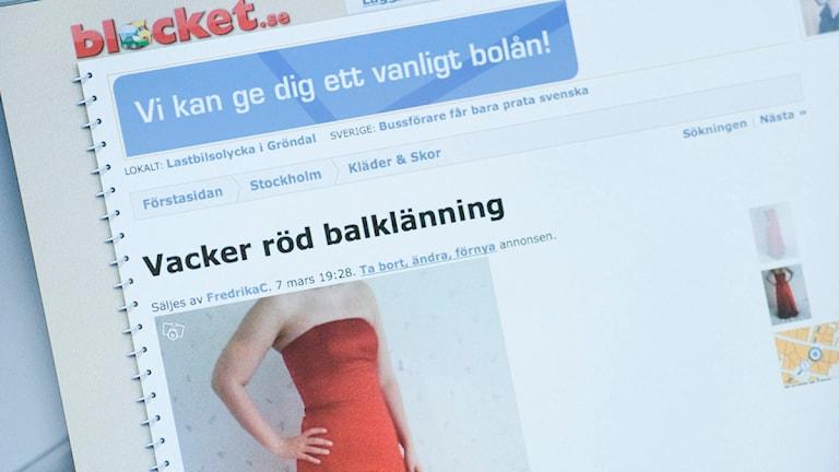 Försäljningen av begagnat ökar under januari. Foto: Leif R Jansson/TT