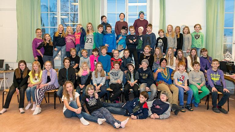 Söderbaumska skolan Pentagonen 5B i Falun