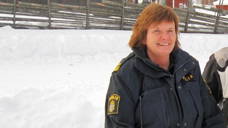 Lena Nilsson, ordförande i norra Dalarnas Fjällräddningskommitté