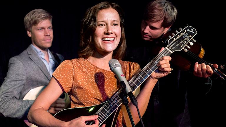 Malin Foxdal Trio spelar live i Borlänge imorgon.
