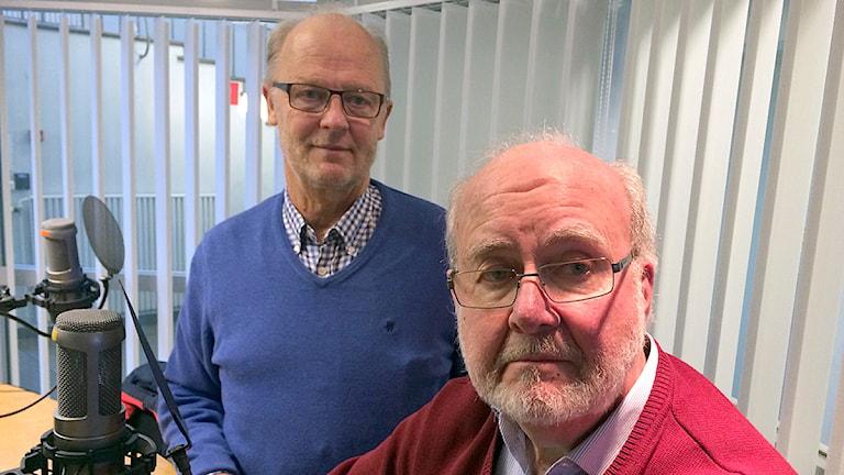 Lars Lundh (S) och Leif Bergh (M)