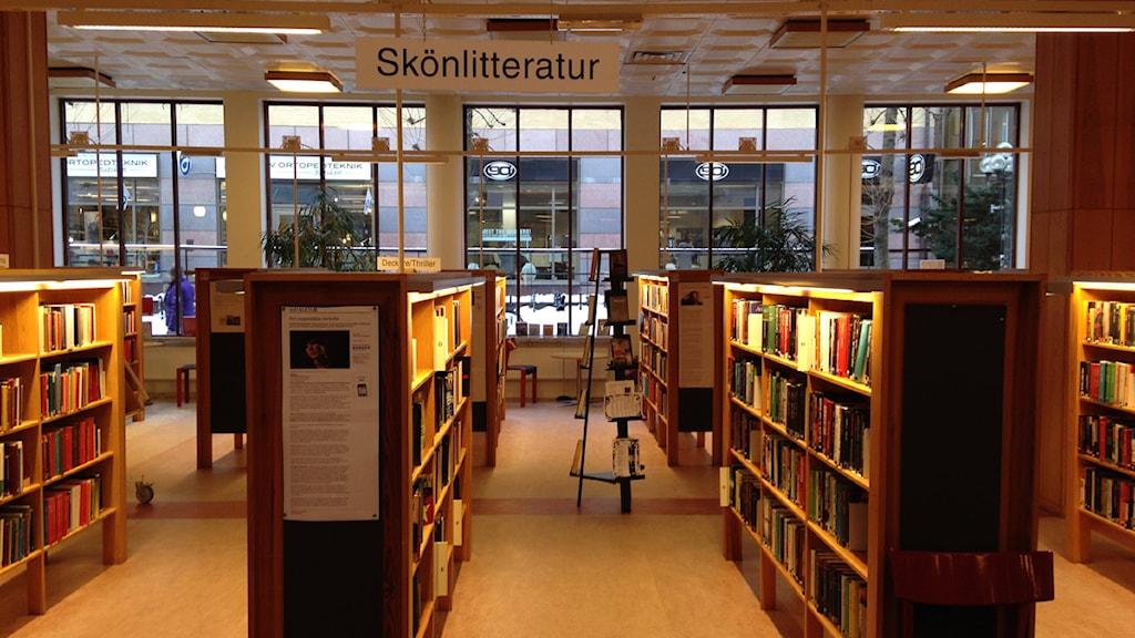 Narkotika har hittats bland böckerna och observationer av knarkförsäljning har gjorts på biblioteket i Falun. .